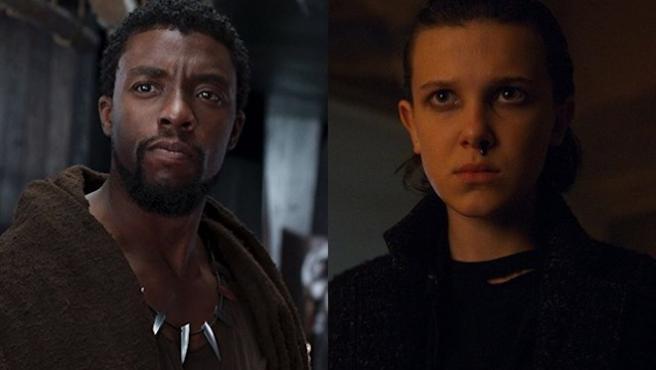 'Stranger Things' y 'Black Panther' arrasan en los MTV Awards
