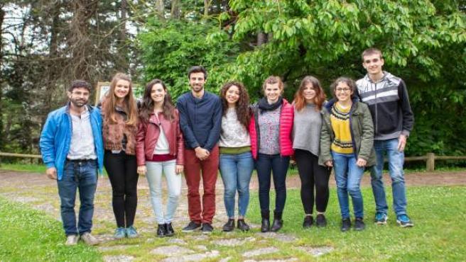 Alumnado de la UPNA participante en el Proyecto Ruiseñor/Urretxindorra