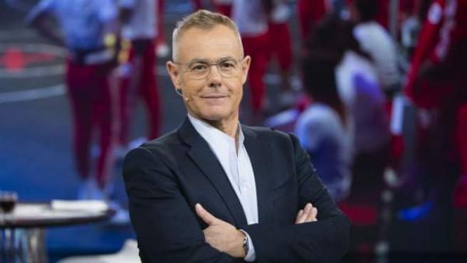 El presentador Jordi González durante el debate del programa 'Gran Hermano Revolution'.