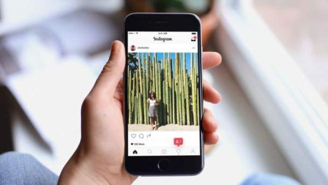 La aplicación Instagram, en un teléfono móvil.