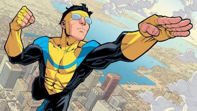 'Invincible' es un cómic de superhéroes obra de Robert Kirkman y Cory Walker.