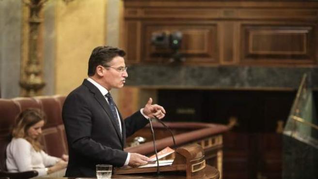 Luis Salvador, diputado de Ciudadanos, en el Congreso