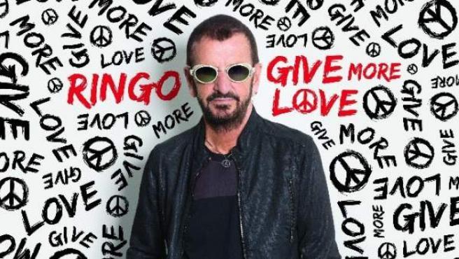 Portada del último disco de Ringo Starr, 'Give More Love'.