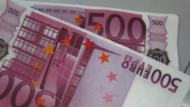 Billetes de 500 euros.c