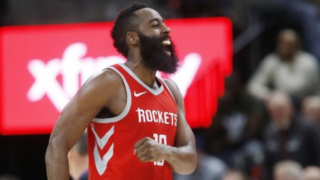 James Harden de los Rockets.