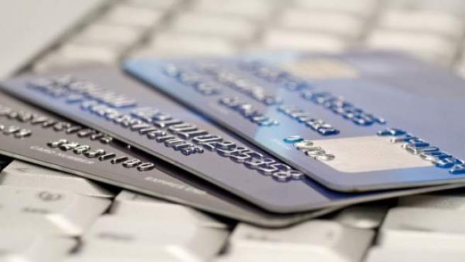 Tarjetas de crédito de distintas entidades.