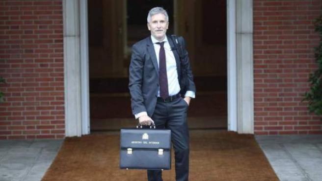 Grande-Marlaska, ministro de Interior.