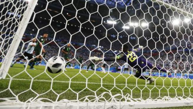 Gol en el Nigeria - Francia del Mundial.