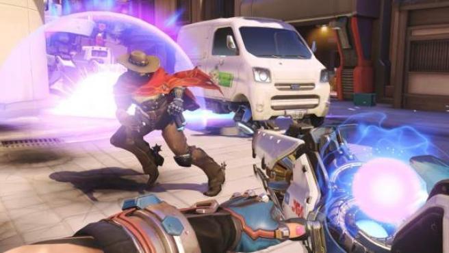 Captura de pantalla del videojuego 'Overwatch'.