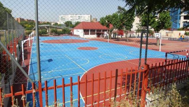 El colegio público Juan Zaragüeta, en Hortaleza, será uno de los que sufran actuaciones de mantenimiento.
