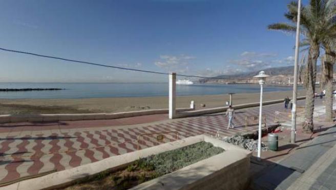 Imagen de la playa de San Miguel, en Cabo de Gata (Almería).