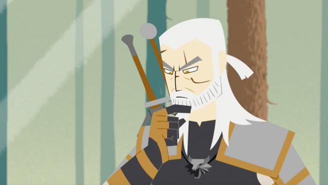 Vídeo del día: ¿Qué ocurre si mezclamos 'Samurai Jack' y 'The Witcher'?