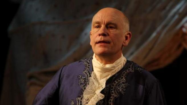El actor John Malkovich en la obra teatral 'The Giacomo Variations', en Viena (Austria), en 2011.