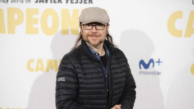 El cineasta Santiago Segura durante el estreno del filme 'Campeones'.