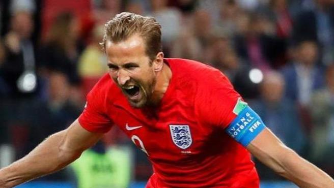 Harry Kane, con la camiseta de Inglaterra.