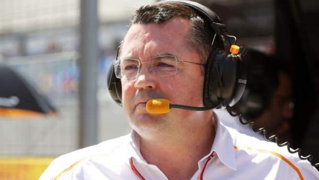 Eric Boullier, director de competición de McLaren
