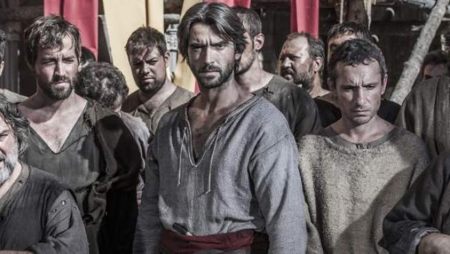Una imagen de 'La catedral del mar', serie de Antena 3.