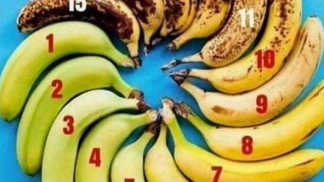 El plátano perfecto.