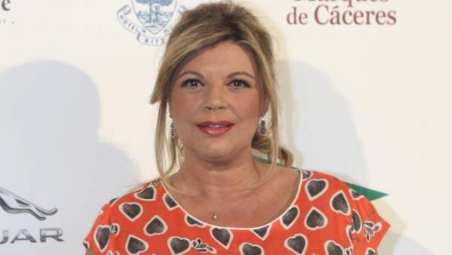 La presentadora Terelu Campos.