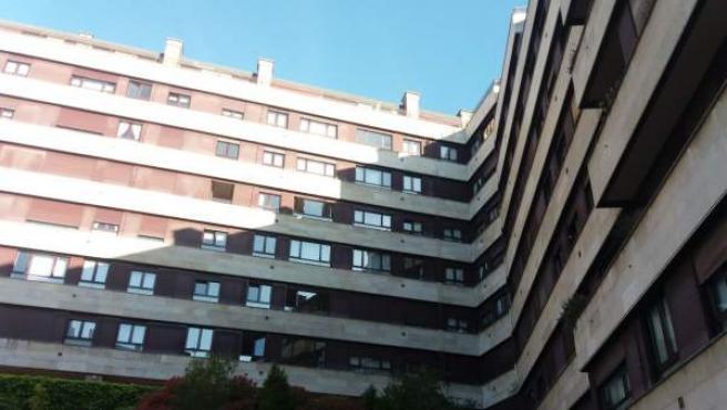 Un bloque de pisos, en una imagen de archivo.