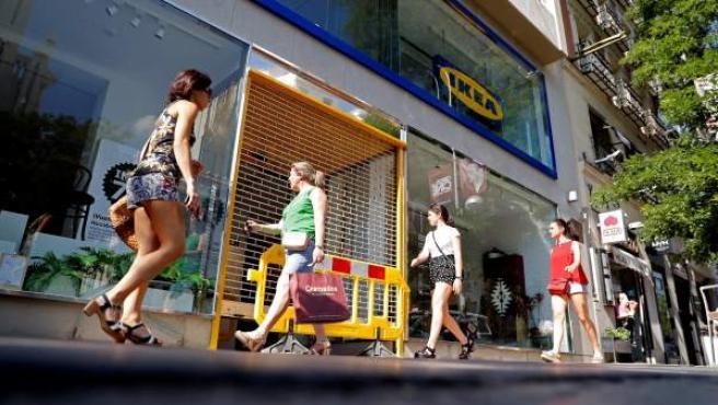 Ikea inauguara su tienda de la calle Goya.