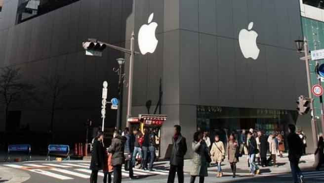 Una tienda de Apple en Tokio, Japón.