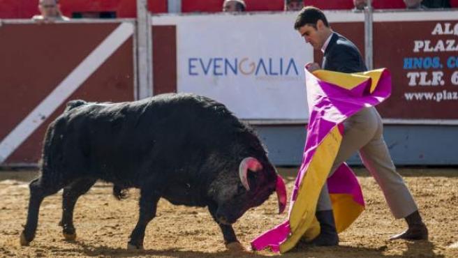 El torero Jesulín de Ubrique durante el Festival Taurino de La Campana en marzo de 2018.