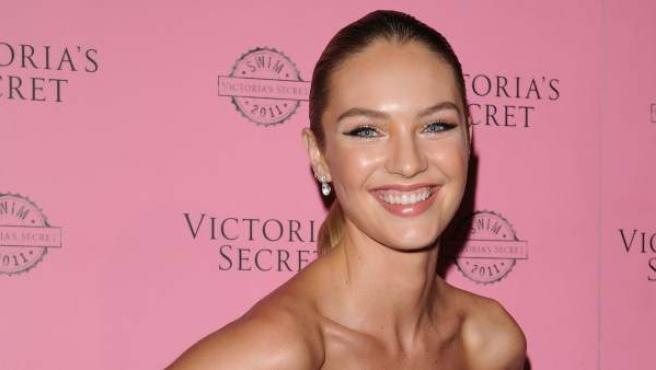 La modelo Candice Swanepoel ha sido madre por segunda vez.