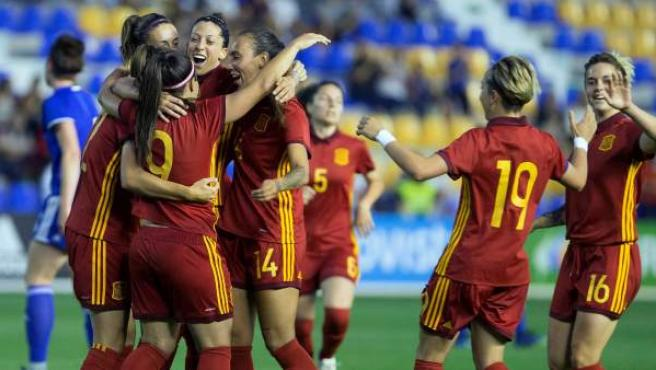 La selección española femenina ha sido la primera europea en certificar su pase al Mundial de Francia 2019.