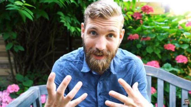Imagen del 'youtuber' Paul Davids, en uno de sus vídeos.