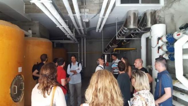 Una delegación catalana conoce el trabajo de Zaragoza Vivienda