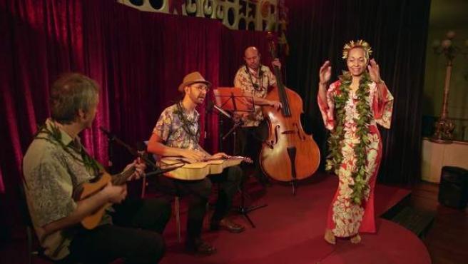 Fernando Pérez, en formación de cuarteto, ofrece un concierto de música de Hawái