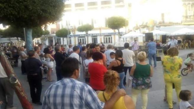 Concentración en Nerva (Huelva)
