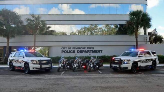 Comisaría de policía de Pembroke Pines, en Florida.