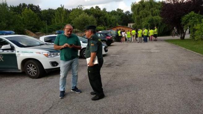 Soria.- El subdelegado del Gobierno Miguel Latorre, en el operativo