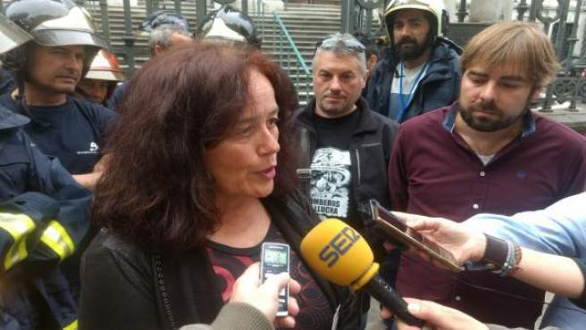 Paula Valero, diputado de Podemos Asturies.