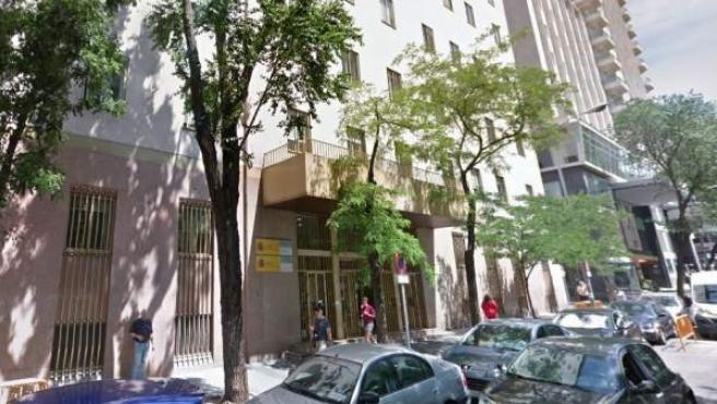 Sede de la Inspección de Trabajo y Seguridad Social en Madrid.