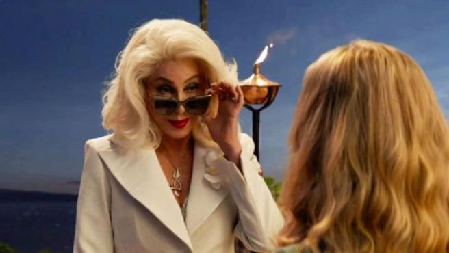 Cher, estrella en el tráiler final de Mamma Mía! Una y otra vez.
