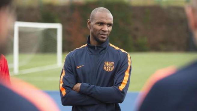 El exjugador del Barça Eric Abidal.