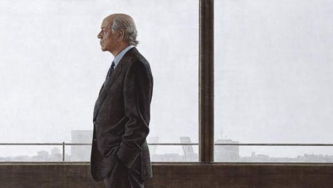Cortés. Retrato acrílico de Francisco González. 2004-2007. Colección particular