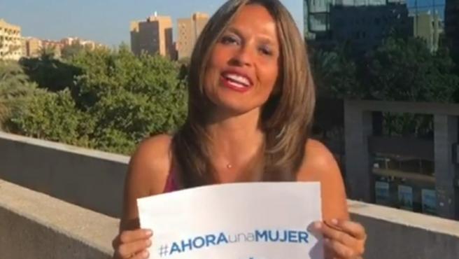 Imagen del vídeo #ahoraunamujer.