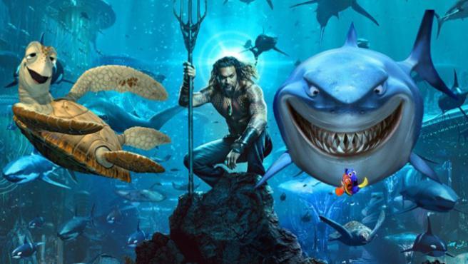 Internet siempre gana: El cartel de 'Aquaman' se convierte en la mofa del día