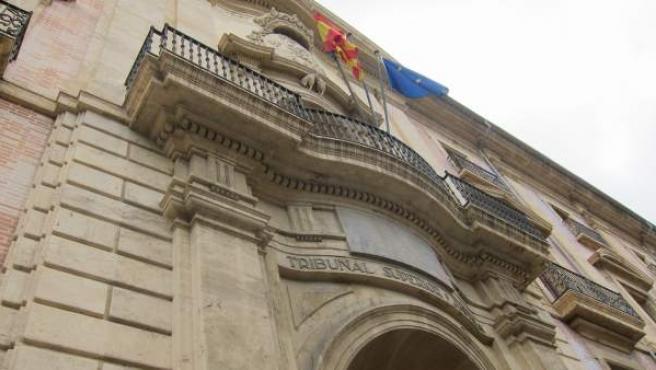 Fachada del Tribunal Superior de Justicia de la Comunitat Valenciana (TSJCV).