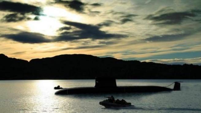 El submarino S-80.