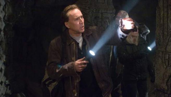 Nicolas Cage en una escena de 'La búsqueda'.