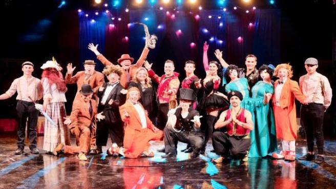 Presentación del espectáculo 'Vintage' del Circo Quimera