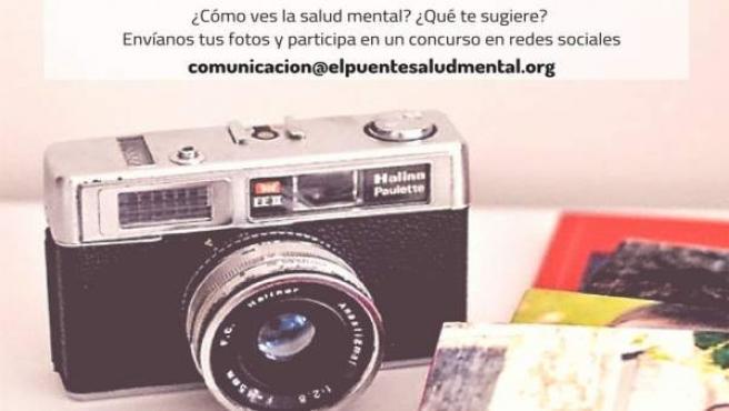 Cartel del concurso de Fotografía sobre Salud Mental. 19-7-2018