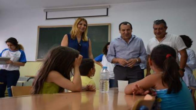 Antequera escuela de verano barriada familias exclusión vulnerabilidad niños