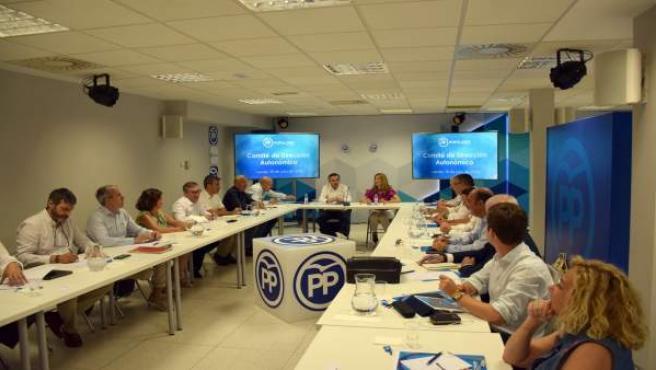El Comité de Dirección del PP de Aragón