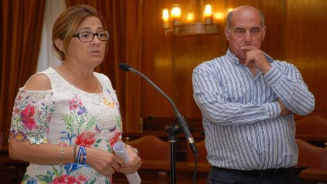 Mayte Marín y Carlos Vega